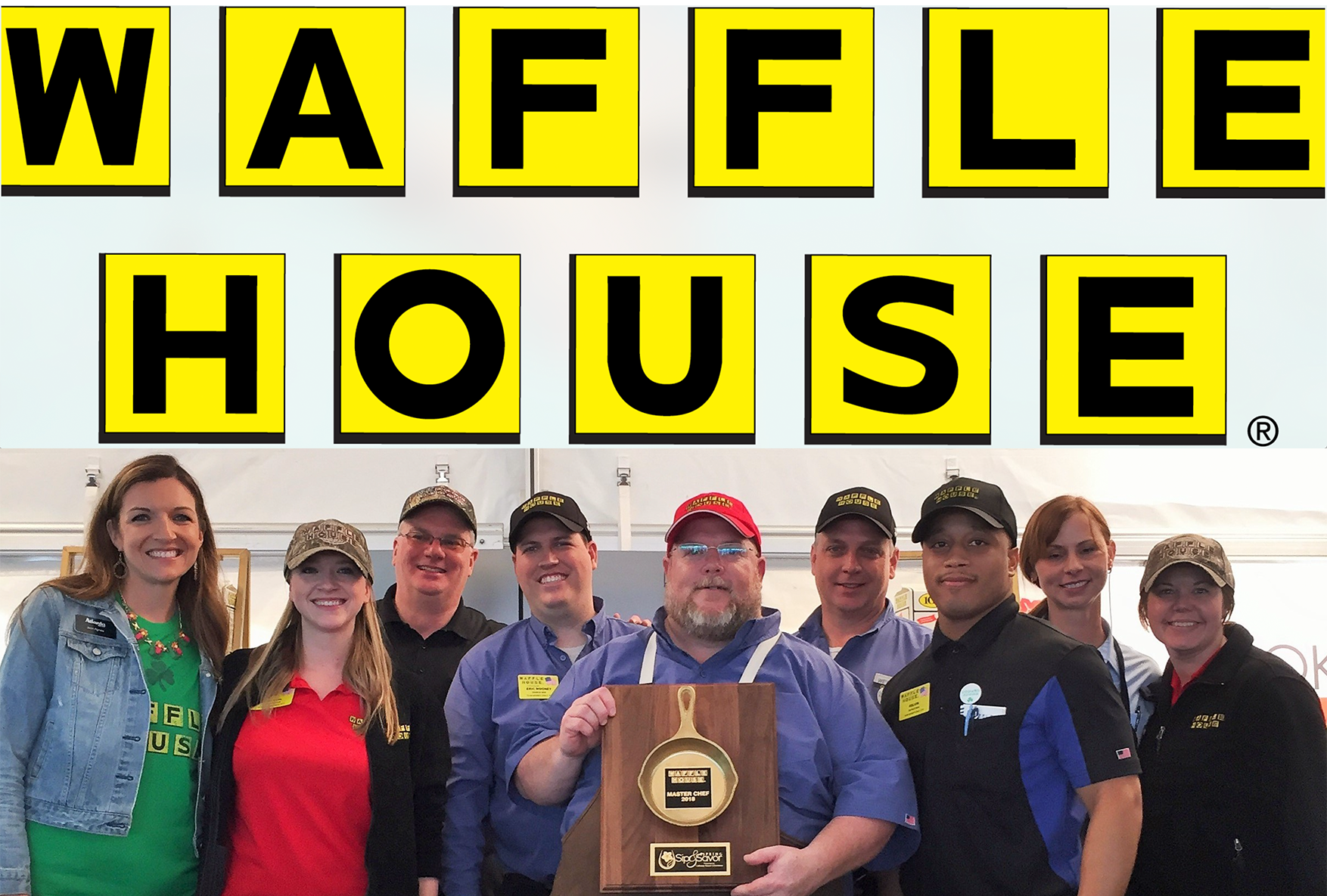 Waffle House Dinner at Local Three
