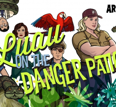 Archer Luau on The Danger Patio