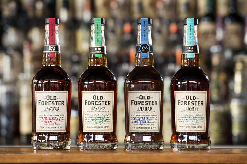 old-forester-1870-1897-1910-1920-bottles